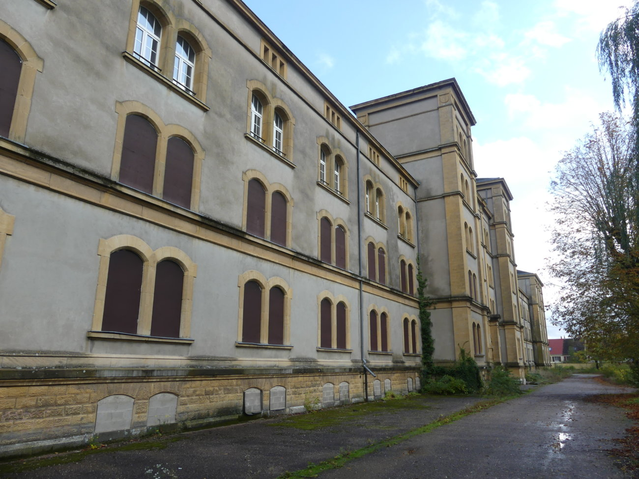 Caserne Désvallières – Metz